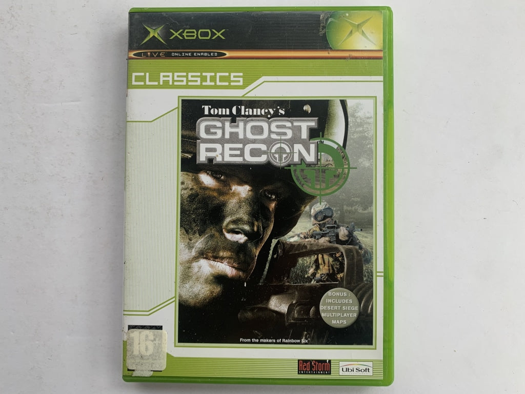 Tom Clancy's Ghost Recon Complete In Original Case