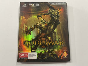 God Of War 3 Collector's Edition Complete In Original Case