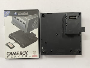 Jet Black Gameboy Player Attachment with Boot Up Disc