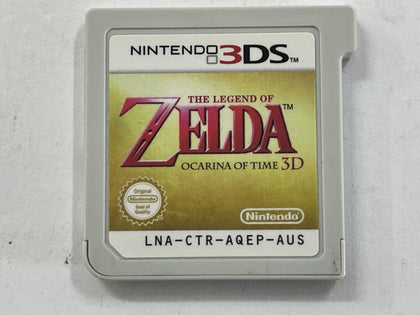 The Legend Of Zelda Ocarina Of Time 3D Cartridge
