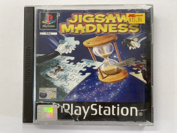 Jigsaw Madness Complete In Original Case