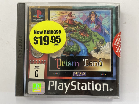 Prism Land Complete In Original Case