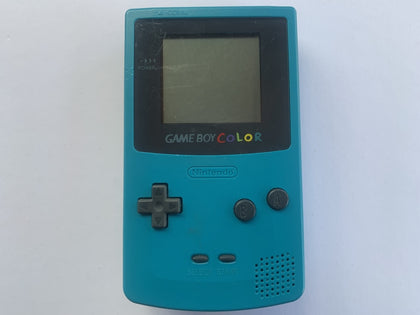 Teal Blue Nintendo Gameboy Color Console
