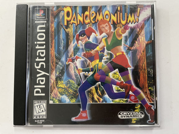 Pandemonium NTSC In Original Case