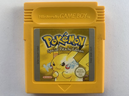 Pokemon Yellow Cartridge