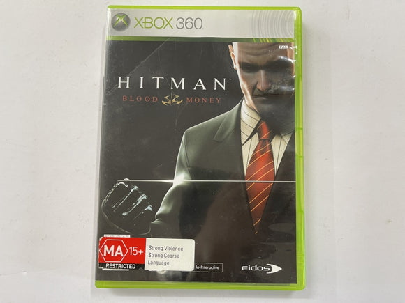 Hitman Blood Money Complete In Original Case