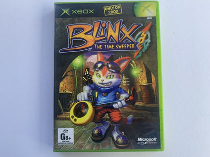 Blinx & The Time Sweeper Complete In Original Case