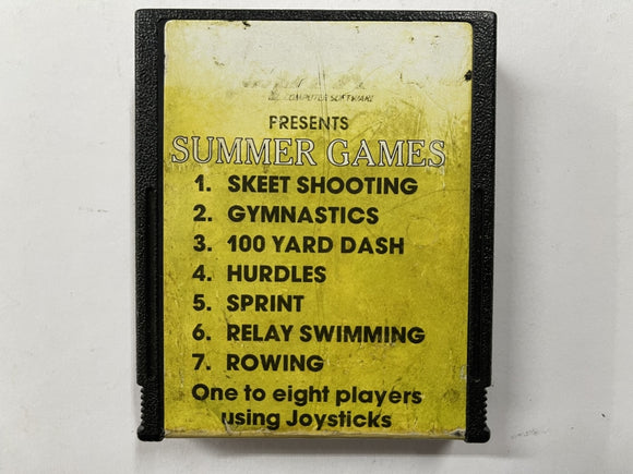 Summer Games Cartridge