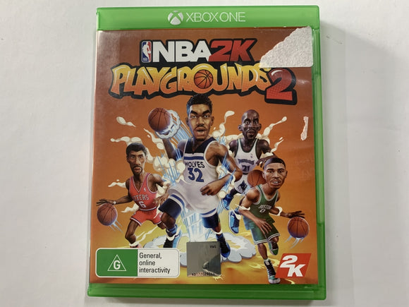NBA 2K Playgrounds 2 Complete In Original Case