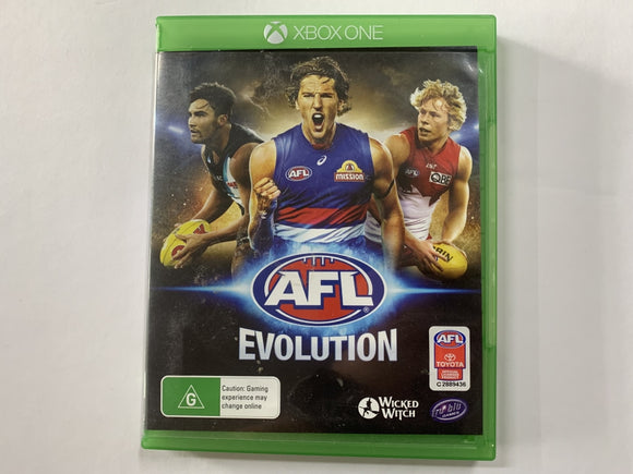 AFL Evolution Complete In Original Case