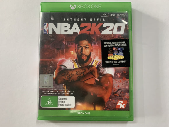 NBA 2K20 Complete In Original Case