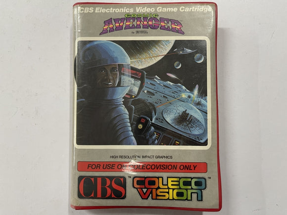 Cosmic Avenger Colecovision Complete In Original Case