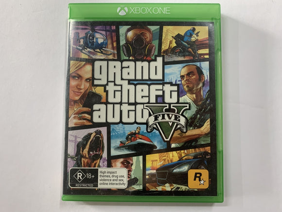 Grand Theft Auto V Complete In Original Case