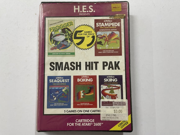 Smash Hit Pak HES In Original Case