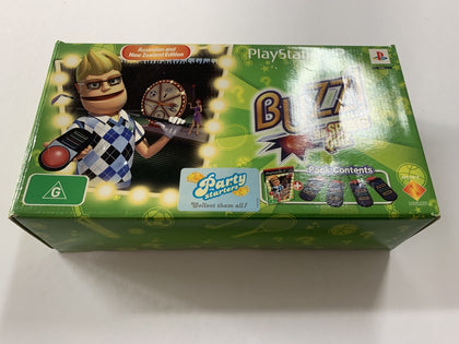 Buzz The Sports Quizz Complete In Box with Buzz Controllers & Game