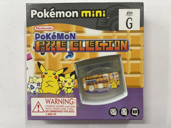 Pokemon Puzzle Collection for Pokemon Mini Complete In Box