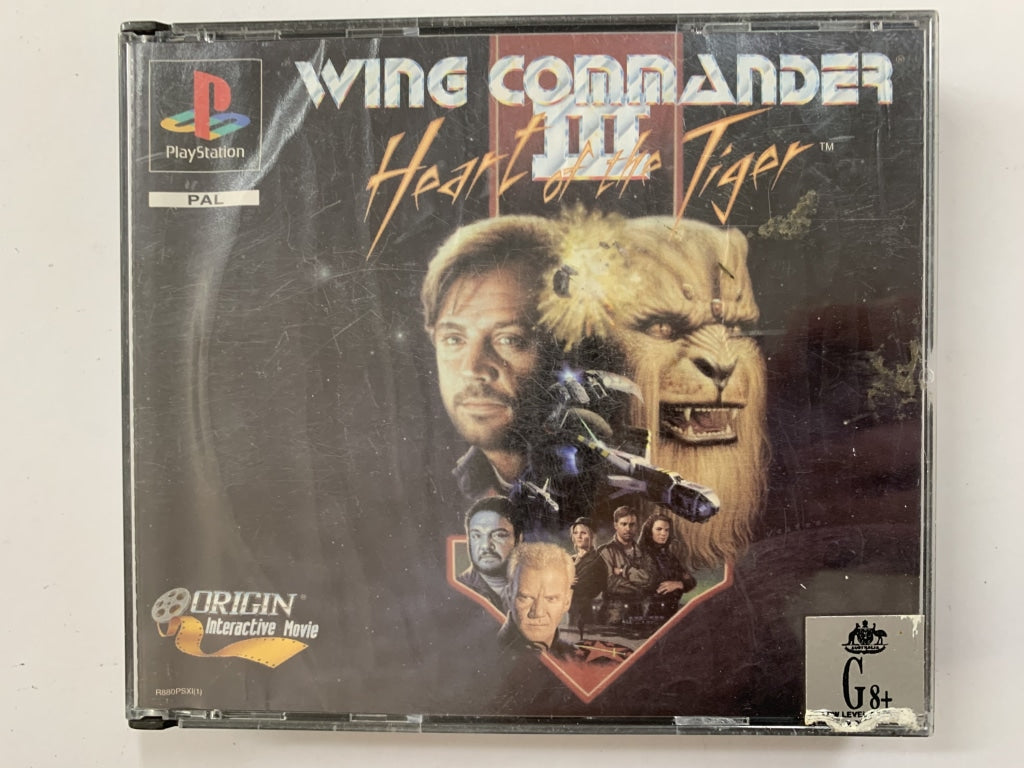 Wing Commander 3 Complete In Original Case The Game Experts
