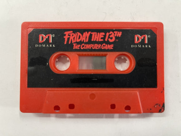 Friday The 13th Commodore 64 Tape
