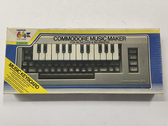 Commodore 64 Commodore Music Maker Keyboard Complete In Box