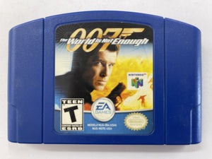 007 The World Is Not Enough NTSC Cartridge