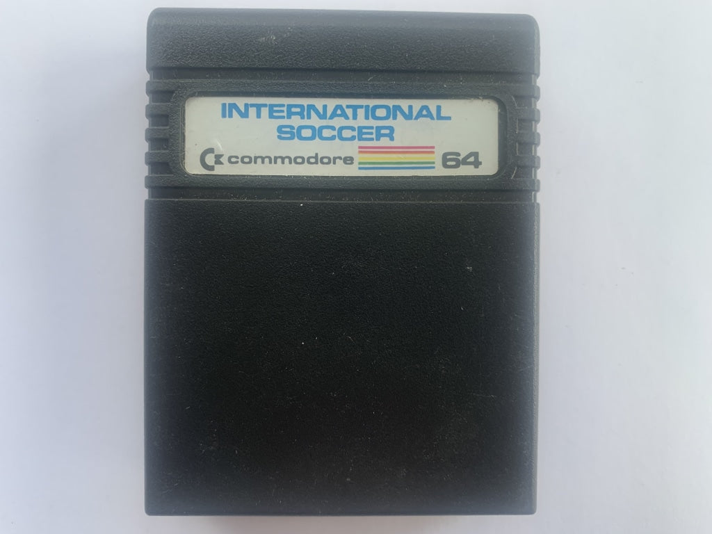 International Soccer Commodore 64 Cartridge