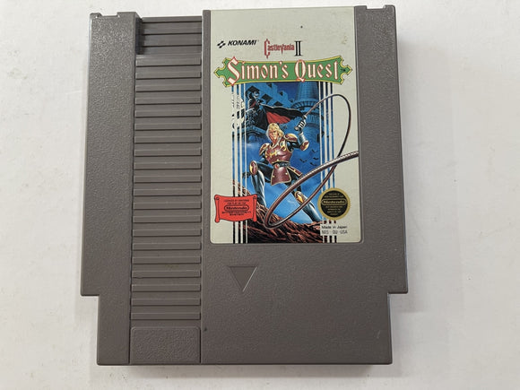 Castlevania 2 Simon's Quest NTSC Cartridge