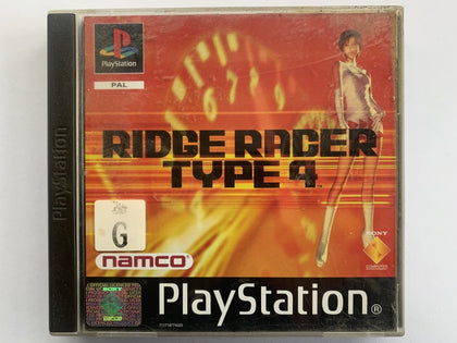 Ridge Racer Type 4 Complete In Original Case