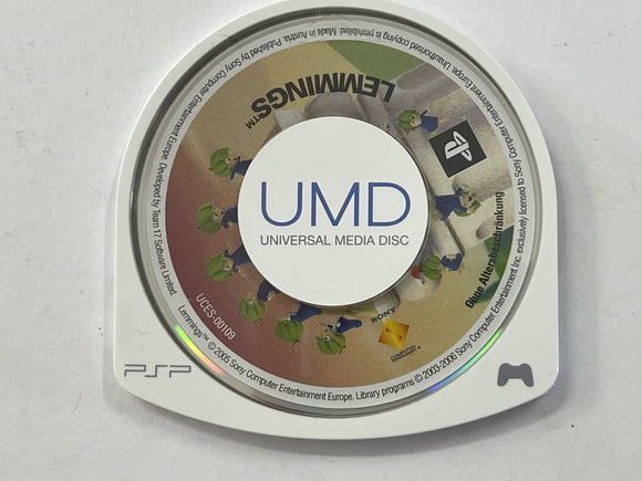 Lemmings Disc Only
