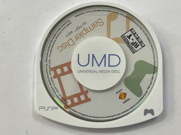 Sampler Disc for PSP Vol 1 Disc Only