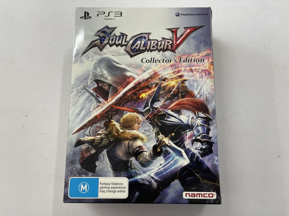 Soul Calibur V Collector's Edition Complete In Box