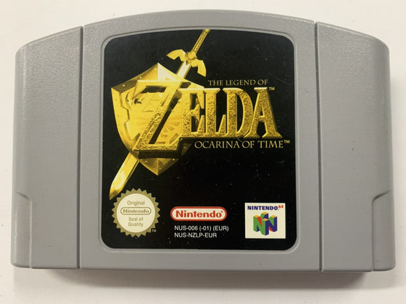 The Legend of Zelda: Ocarina of Time Cartridge