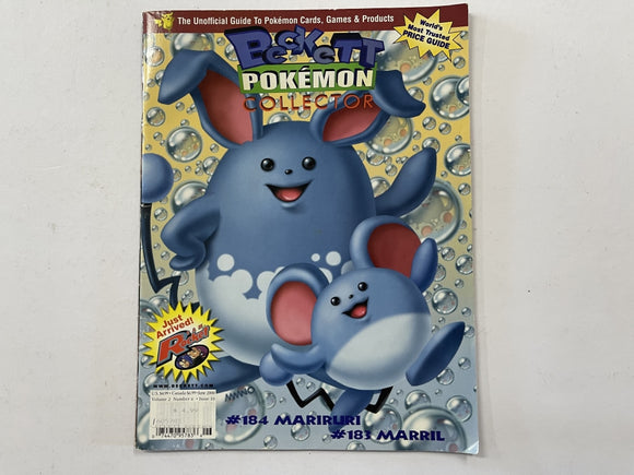 Beckett Pokemon Collector Magazine Volume 2 Number 6