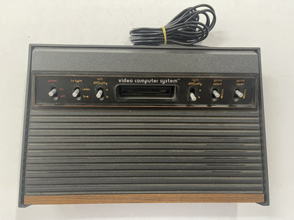 Atari 2600 6 Switch Woody Console Only