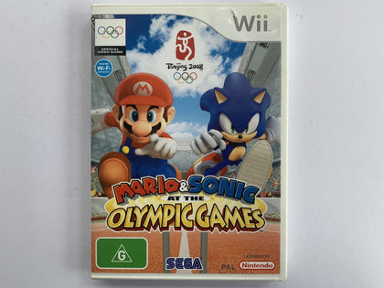 Mario & Sonic At The Olympic Games Complete In Original Case