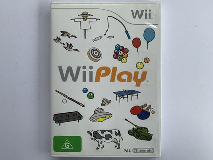 Wii Play Complete In Original Case