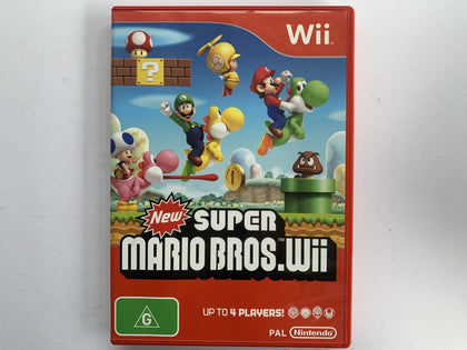New Super Mario Bros Wii Complete In Original Case