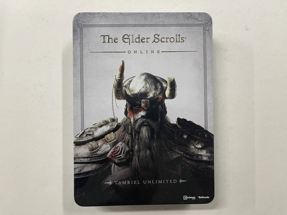 The Elder Scrolls Online Tamriel Unlimited Collector's Edition Complete In Metal Tin