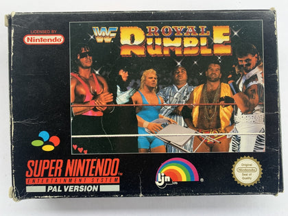 WWF Royal Rumble Complete In Box