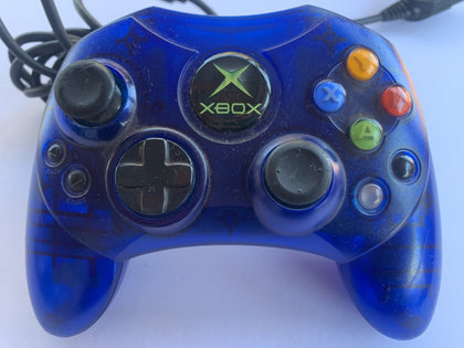 Genuine Limited Edition Clear Blue S Microsoft XBOX Controller