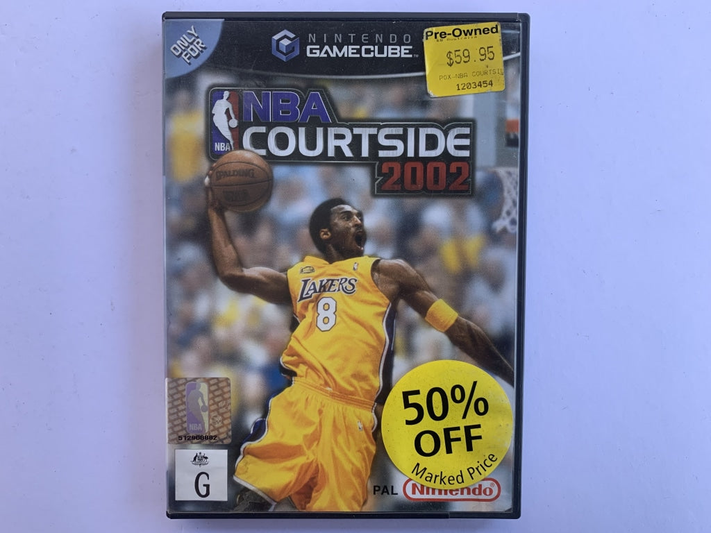 NBA Courtside 2002 Complete In Original Case