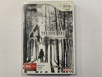 Resident Evil 4 Wii Edition Complete In Original Case