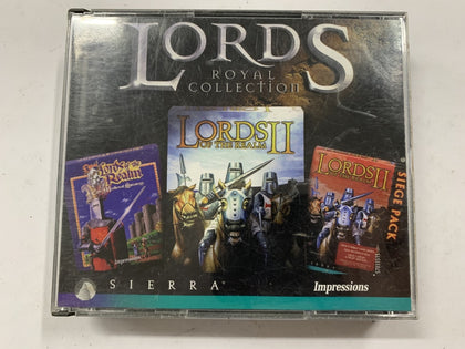 Lords Of The Realm Royal Collection Complete In Original Case