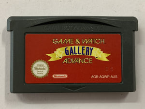 Game & Watch Gallery Advance Cartridge