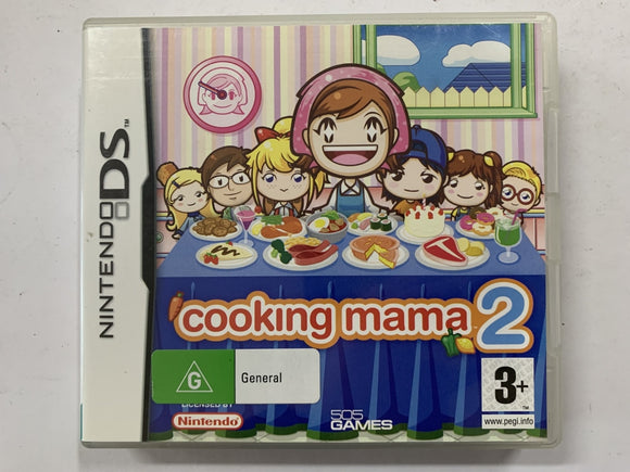 Cooking Mama 2 Complete In Original Case