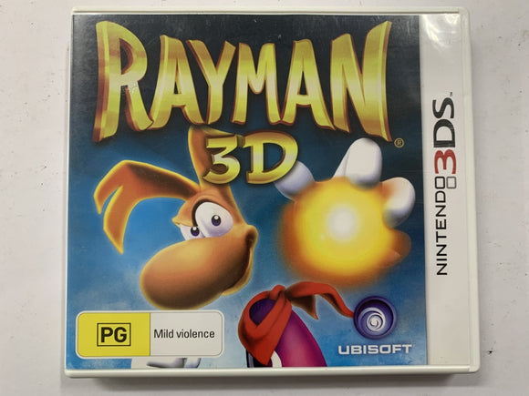 Rayman 3D Complete In Original Case