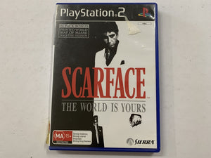 Scarface The World Is Yours Complete In Original Case
