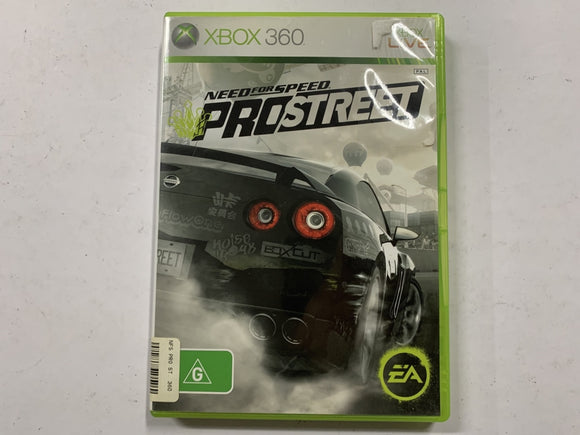 Need For Speed Pro Street Complete In Original Case