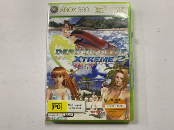 Dead Or Alive Xtreme 2 Complete In Original Case
