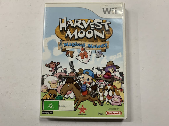 Harvest Moon Magical Melody Complete In Original Case