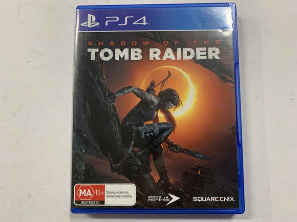 Shadow Of The Tomb Raider Complete In Original Case